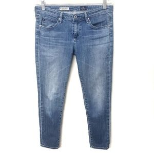 Ag Adriano Goldschmied Stevie Slim Ankle Jeans
